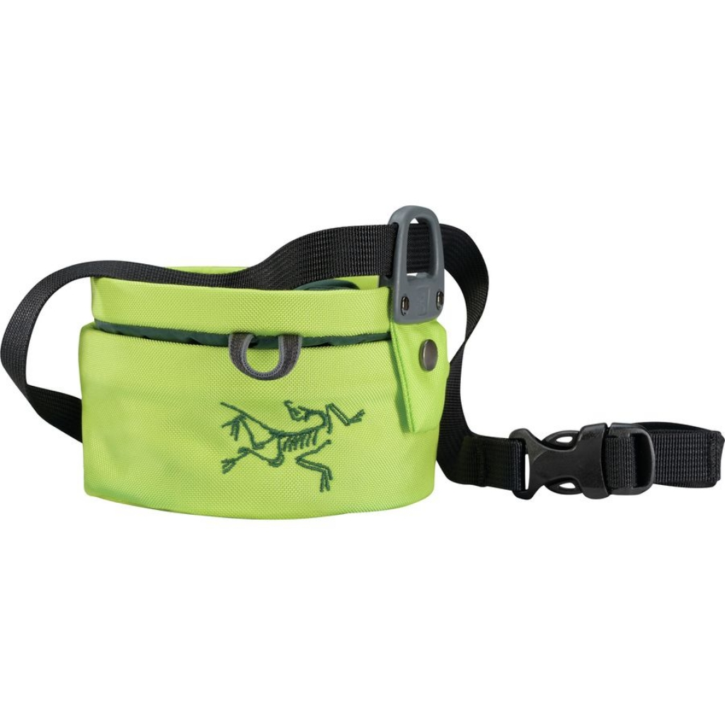 Arcteryx Aperture Chalk Bag Large -mankkapussi Titanite/Zevan