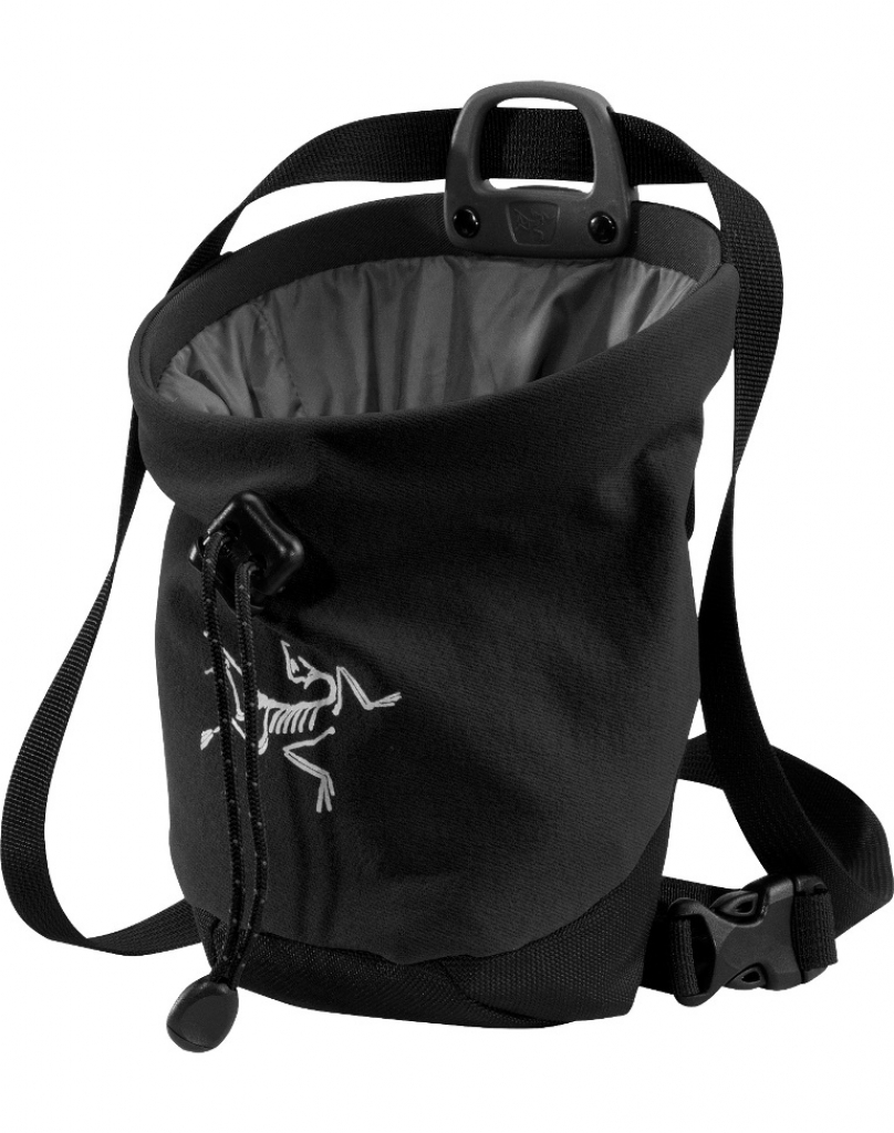 Arcteryx C40 Chalk Bag -Mankkapussi Black