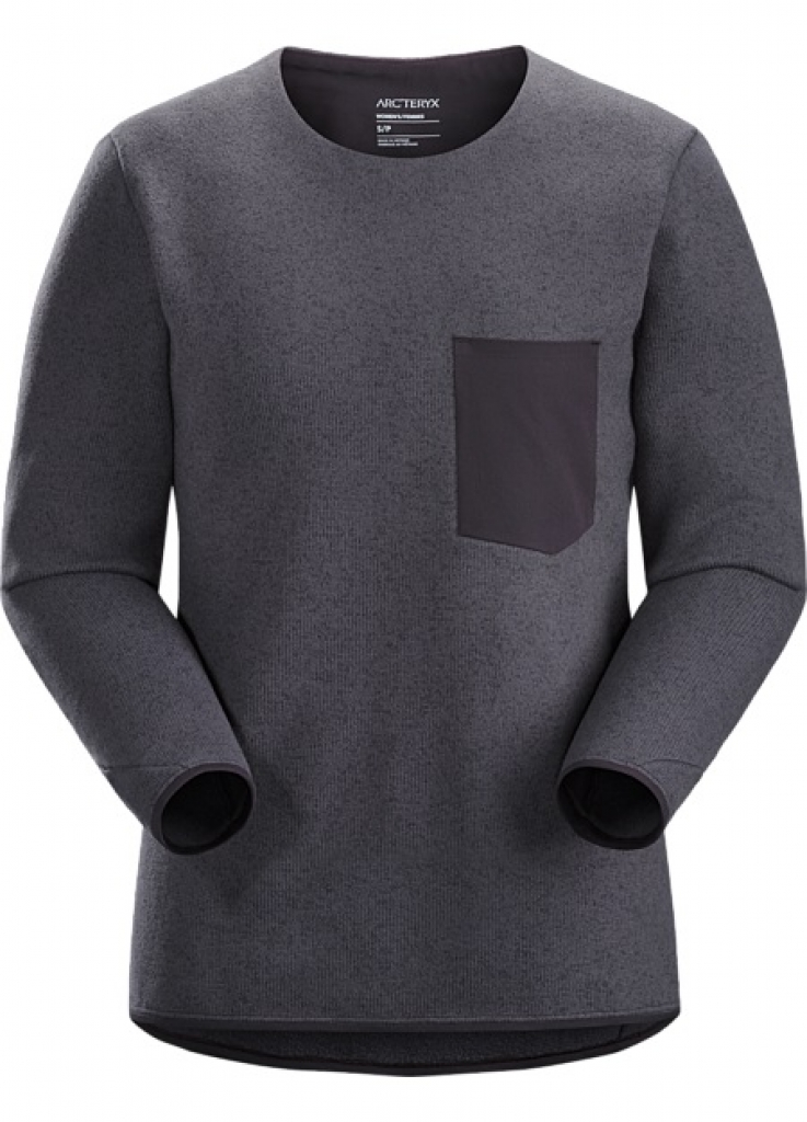 Arcteryx Covert Sweater (W) -fleecetakki Whiskey Jack Heather