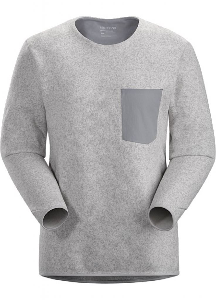 Arcteryx Covert Sweater (W) -fleecetakki Athena Grey Heather