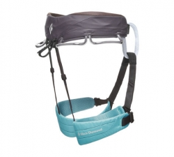Black Diamond Momentum Harness (W) -Kiipeilyvaljaat Caspian