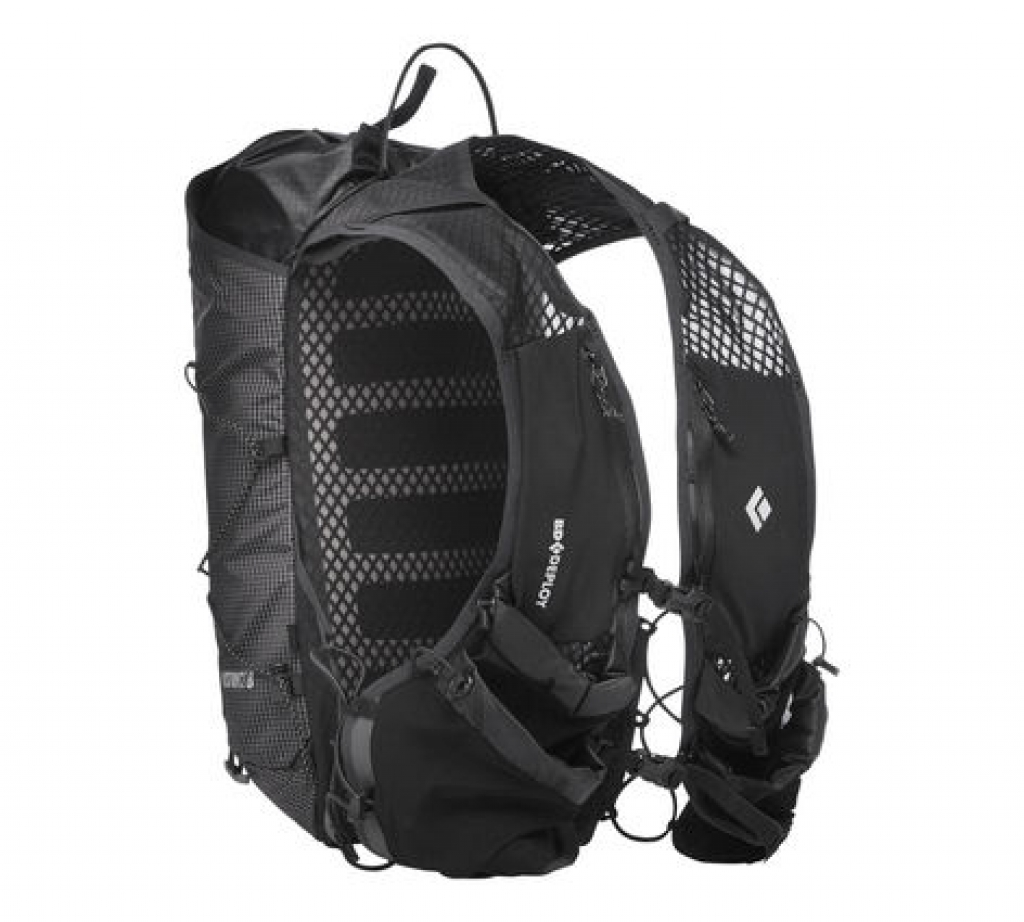 Black Diamond Distance 8 Backpack -juoksureppu Black