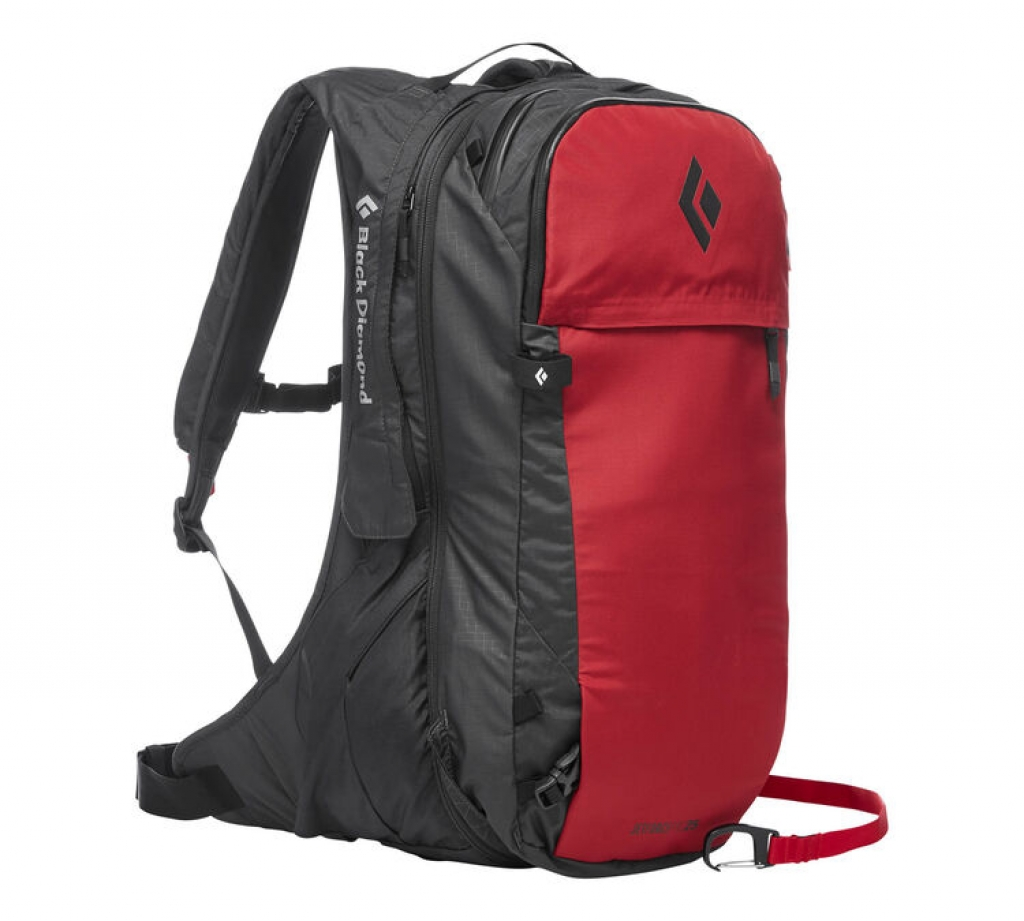 Black Diamond Jetforce Pro Pack 25L -Lumivyöryreppu Red