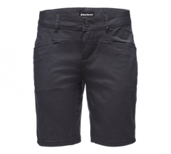 Black Diamond Radha Shorts (W) -Kiipeilyshortsit Carbon