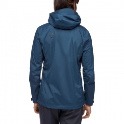 Black Diamond Stormline Stretch Rain Shell (W) -kuoritakki Ink Blue
