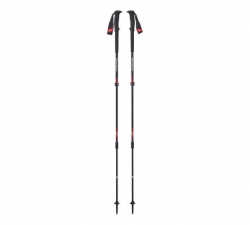 Black Diamond Trail Pro Trekking Poles -vaellussauvat Fire Red