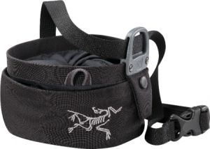 Arcteryx Aperture Chalk Bag Large -mankkapussi Black