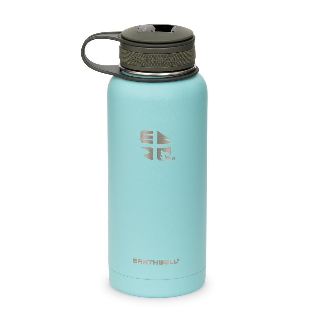 Earthwell Vacuum Kewler Bottle 946 ml -termospullo Aqua Blue