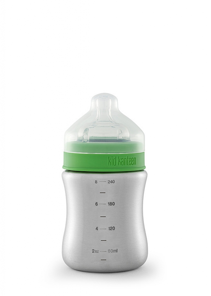 Klean Kanteen Baby Bottle 247 ml  medium flow nipple