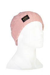 Mons Royale Rope Tow Beanie -merinovillapipo Rosewater