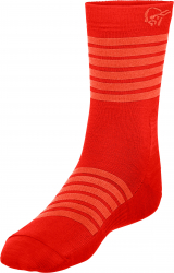 Norrona falketind light weight Merino Socks -Hiihtosukat Crimson Kick