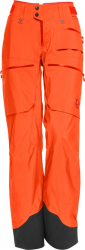 Norrøna lofoten Gore-Tex Pro Light Pants (W) -Kuorihousut Orange Alert