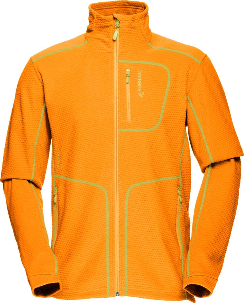 Norrøna lofoten warm1 jacket (M)  Orange Crush