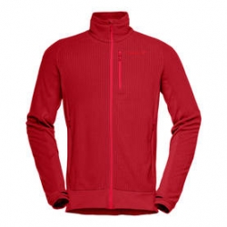 Norrona lofoten warm1 Jacket (W) -Fleece-takki Jester Red