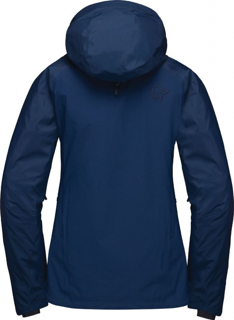 Norrona lyngen Windstopper hybrid Jacket (W) -Softshell-takki Indigo Night