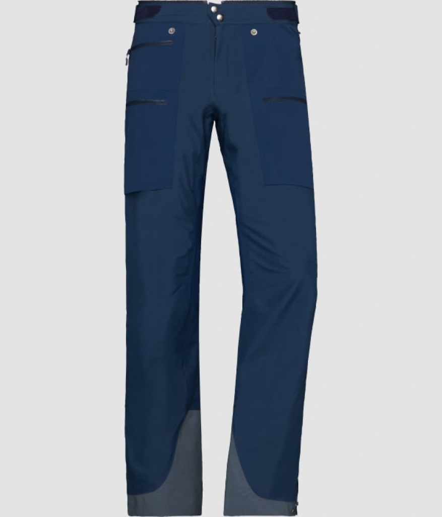 Norrona lyngen Windstopper hybrid Pants (W) -Softshell-housut Indigo Night