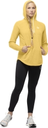 Norrona Norrøna Warm2 Hood (W) -fleecehuppari Lemon Chrome