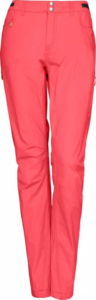Norrona Svalbard Light Cotton Pants (W) -vaellushousut Crisp Ruby