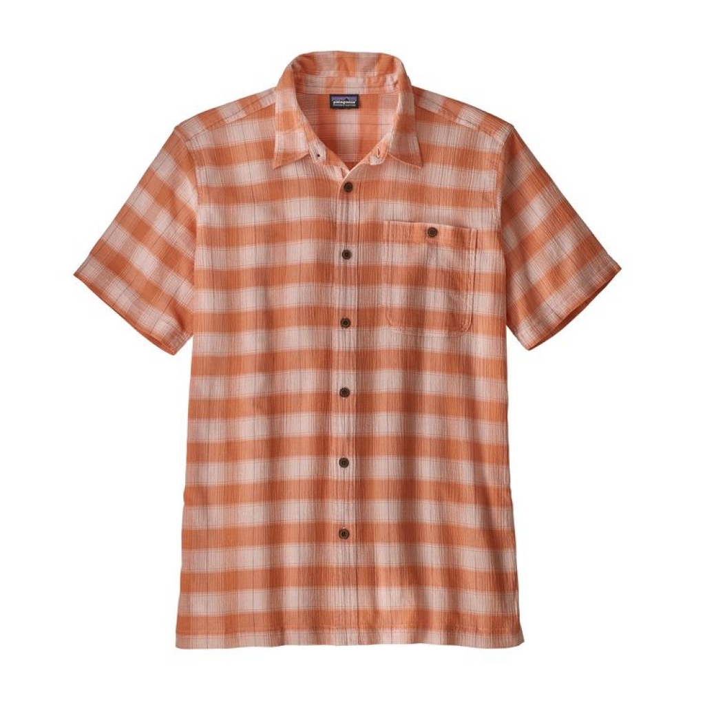 Patagonia AC Shirt -Kauluspaita Haven: Light Peach Sherbet