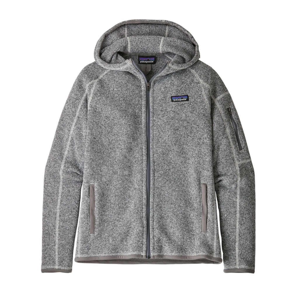 Patagonia Better Sweater Hoody (W) -fleece-huppari Birch White