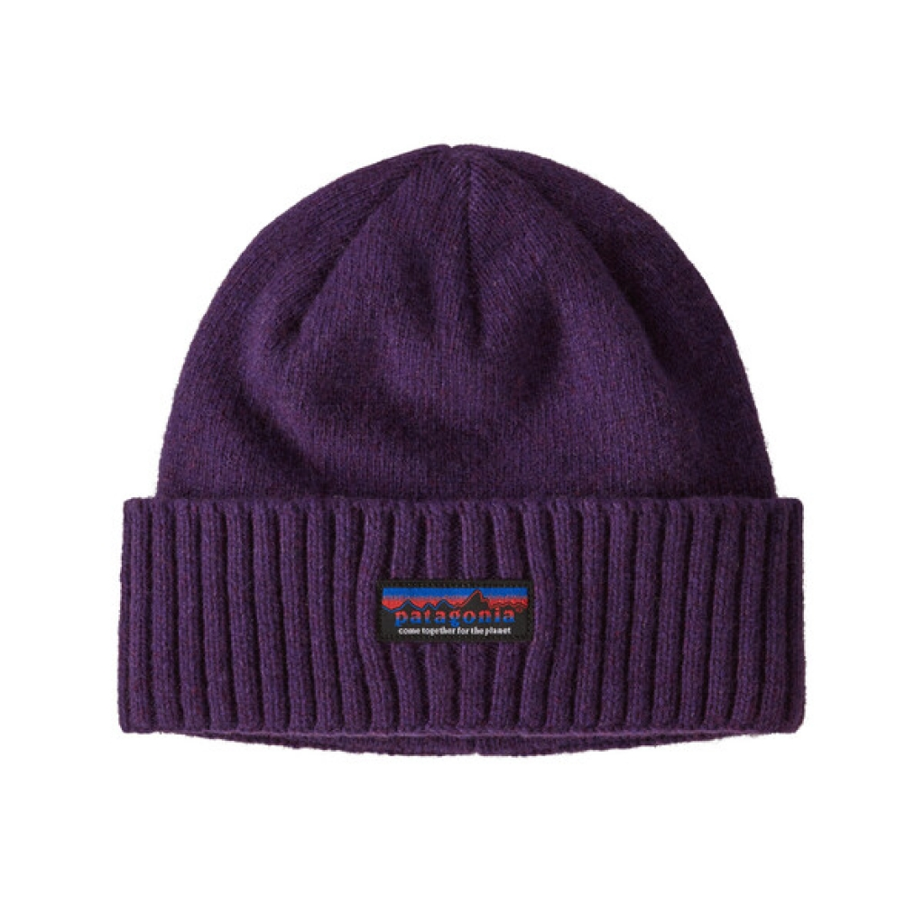 Patagonia Brodeo Beanie -pipo Together for the Planet Label: Purp