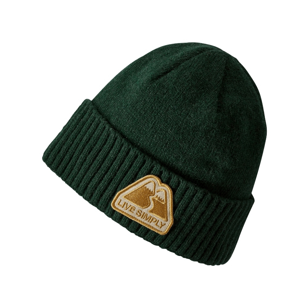 Patagonia Brodeo Beanie -Pipo Live Simply Winding: Micro Green