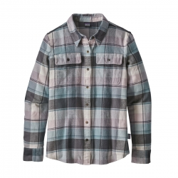 Patagonia Fjord Flannel Shirt (W) -Flanellipaita Spectra: Cadet Blue