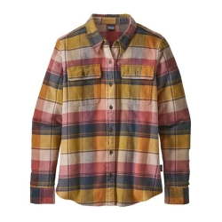 Patagonia Fjord Flannel Shirt (W) -Flanellipaita Spectra: Kiln Pink