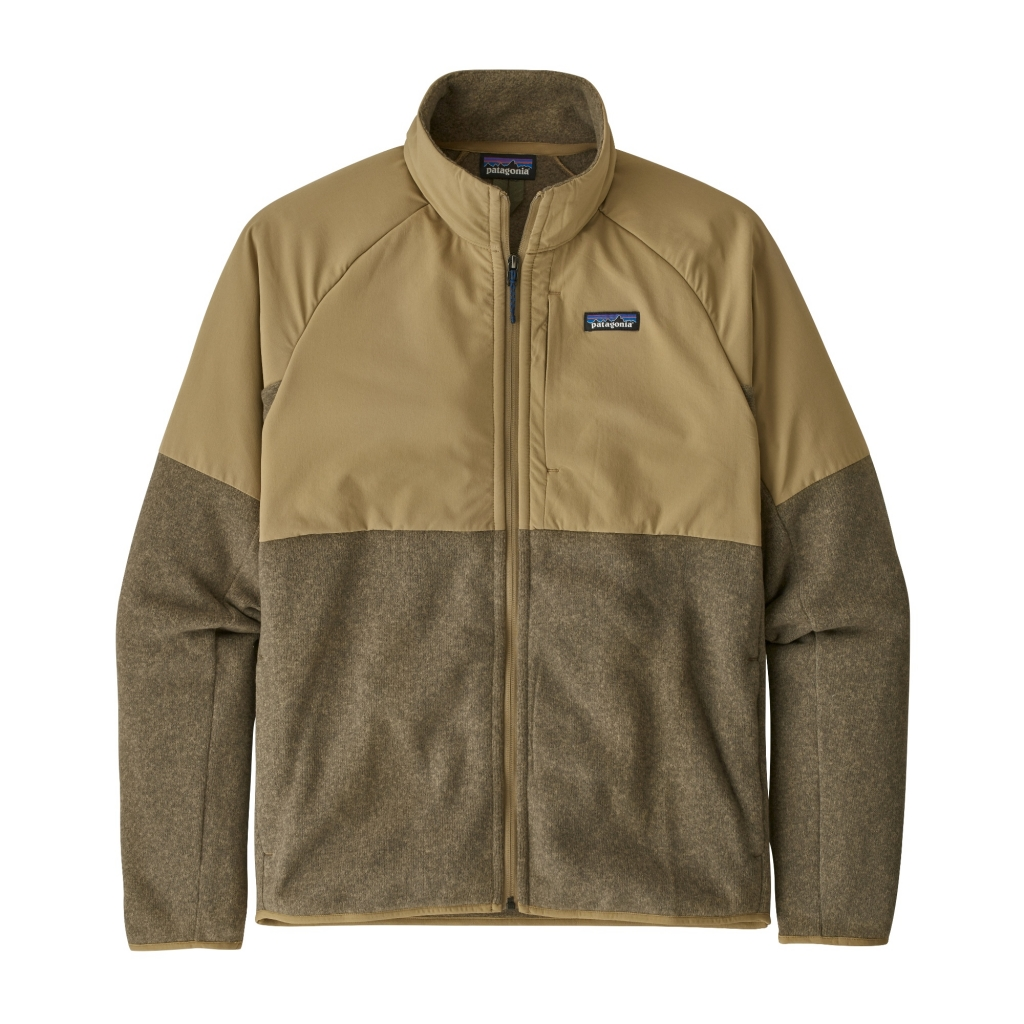 Patagonia LW Better Sweater Shelled Jkt -fleecetakki Classic Tan