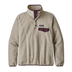 Patagonia LW Synch Snap-T P O (W) -fleece-pusero Oatmeal Heather w/Deep Pl