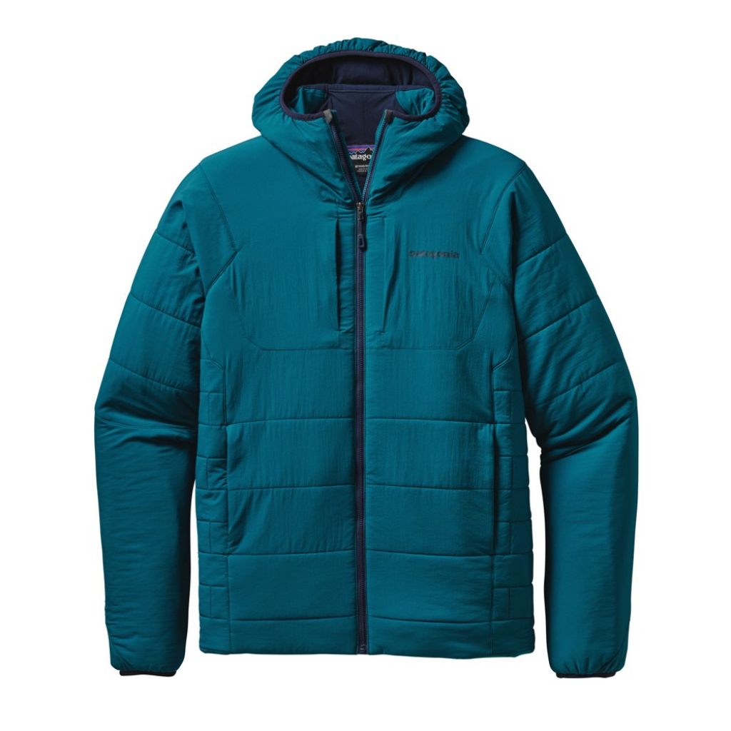 Patagonia Nano-Air Hoody (M) -Välitakki Deep Sea Blue