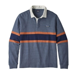 Patagonia Rugby Shirt LW L/S  Rugby Big: Dolomite Blue