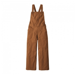 Patagonia Stand Up Cropped Overalls,  (W) -haalarit Umber Brown