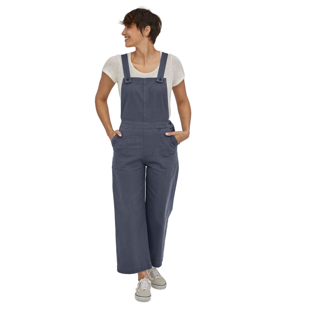 Patagonia Stand Up Cropped Overalls,  (W) -haalarit Smolder Blue
