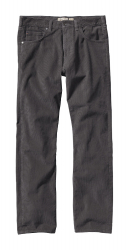 Patagonia Straight Fit Cords -Vakosamettihousut Forge Grey