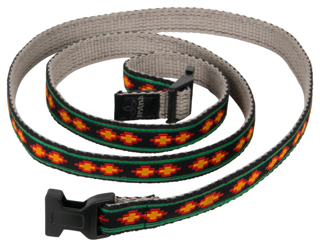 prAna Chalkbag Cotton Belt  Rasta