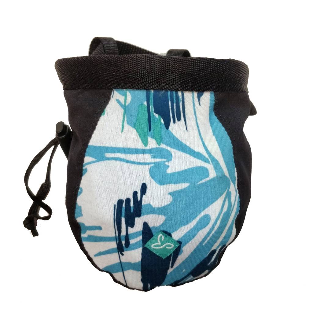 prAna Chalkbag -mankkapussi Waterfall Burst