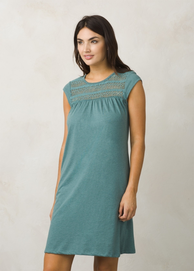 prAna Day Dream Dress (W) -Mekko Green