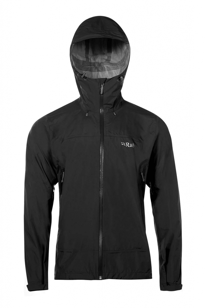 RAB Downpour Plus Jkt -kuoritakki Black