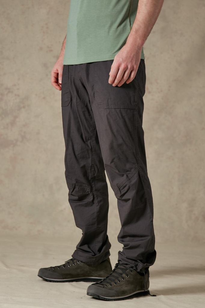 RAB Oblique Pants -kiipeilyhousut Anthracite