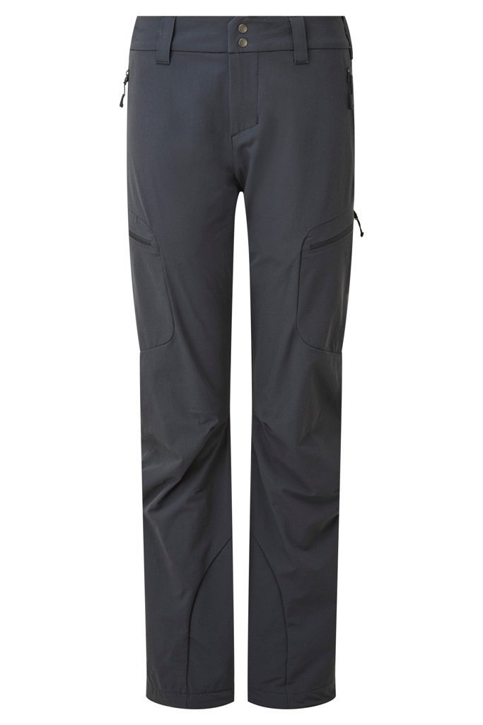 RAB Sawtooth Pants (W) -softshell-housut Beluga