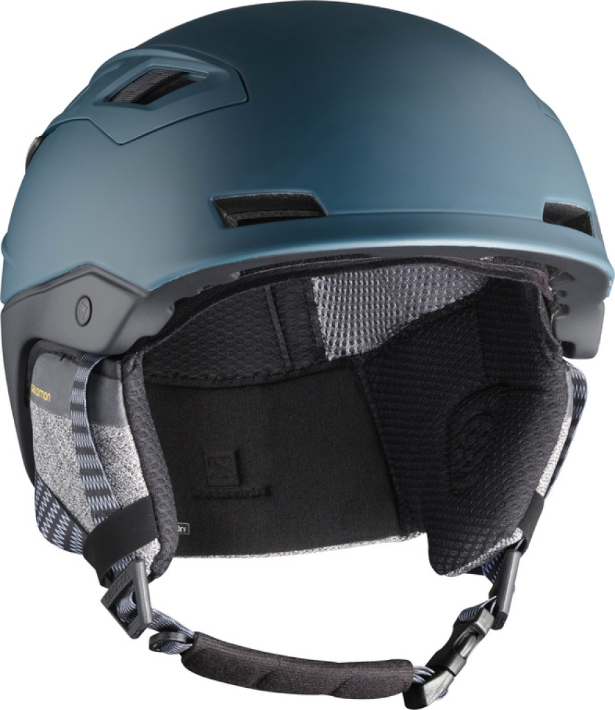 Salomon QST Charge Helmet -Laskettelukypärä Moroccan Blue/Black