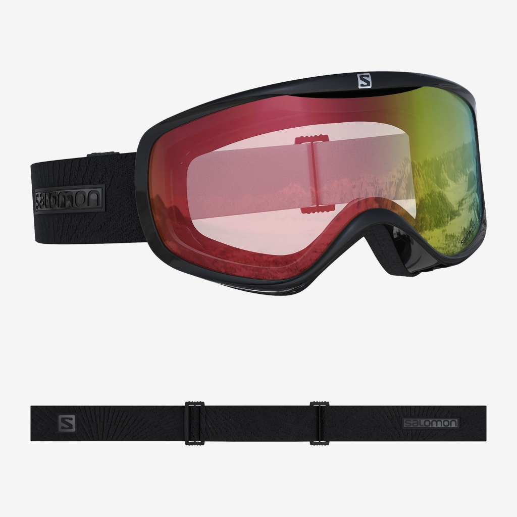 Salomon Sense Photochromic -Laskettelulasi Bk/All Weather Red
