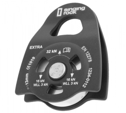 Singing Rock Pulley Extra Roll -Rissa Black