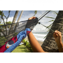 Ticket to the Moon Mosquito Net 360 Hammockille -Hyttysverkko musta